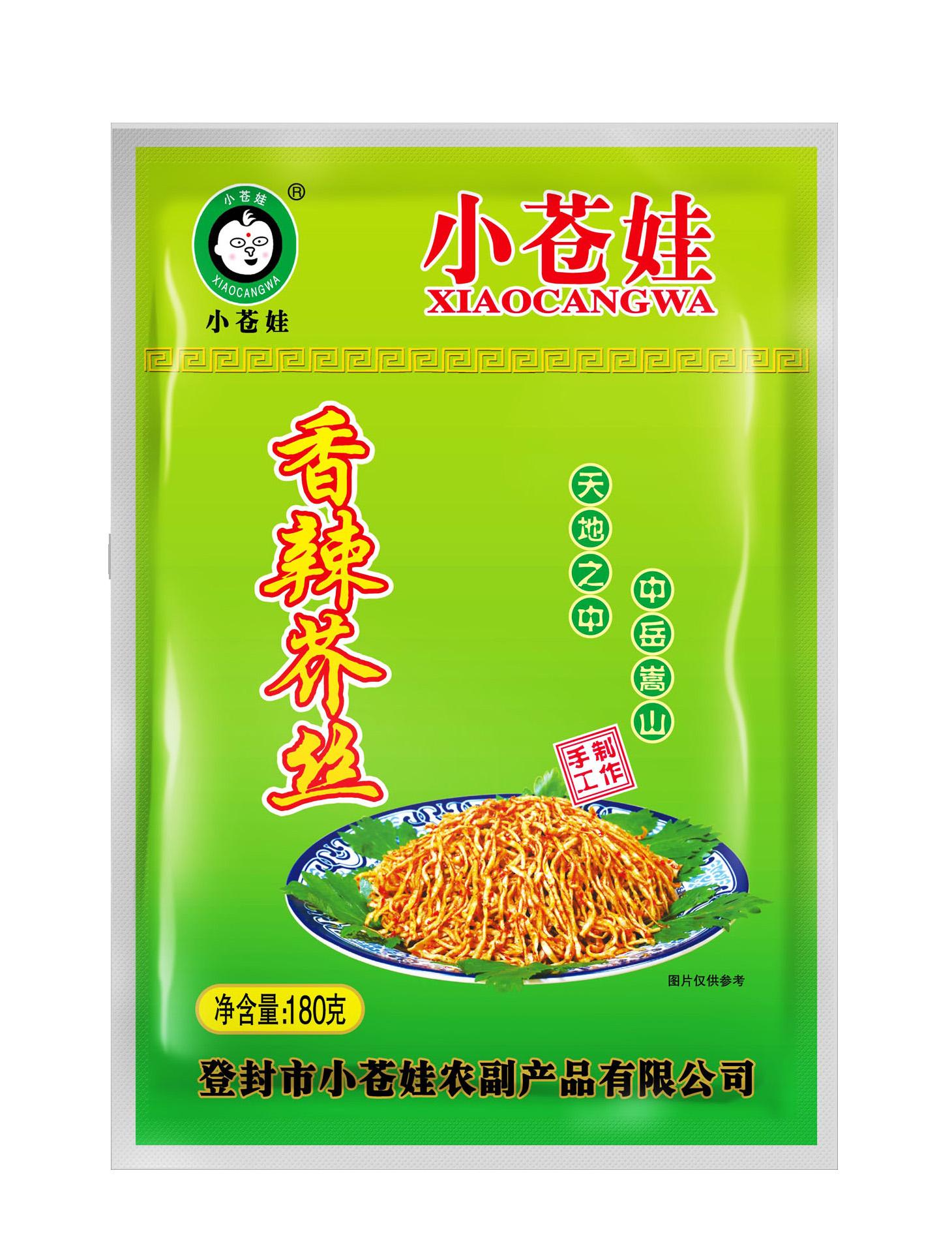 香辣芥丝(180克/袋)