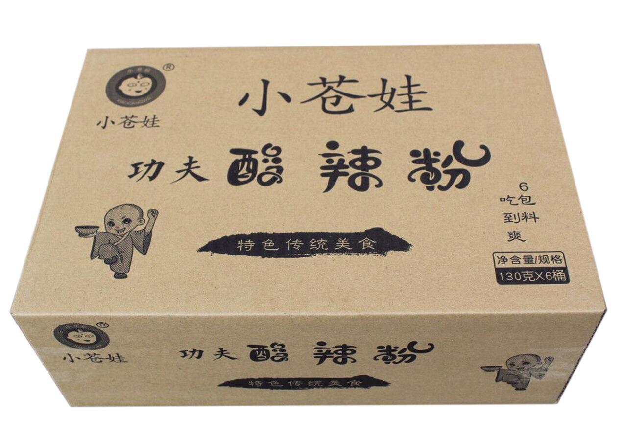 山东酸辣粉130克6桶