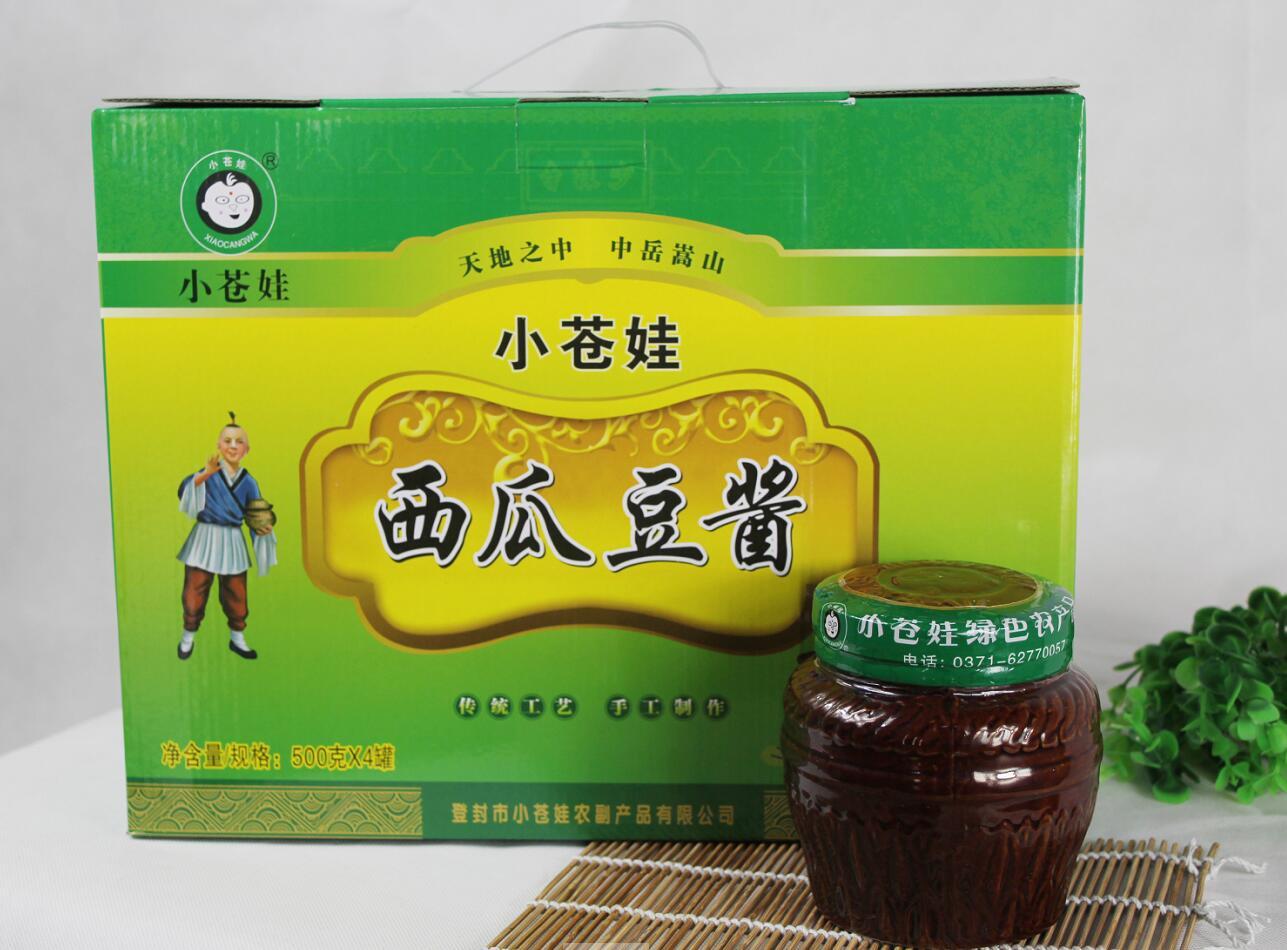 河南西瓜豆酱500克4罐