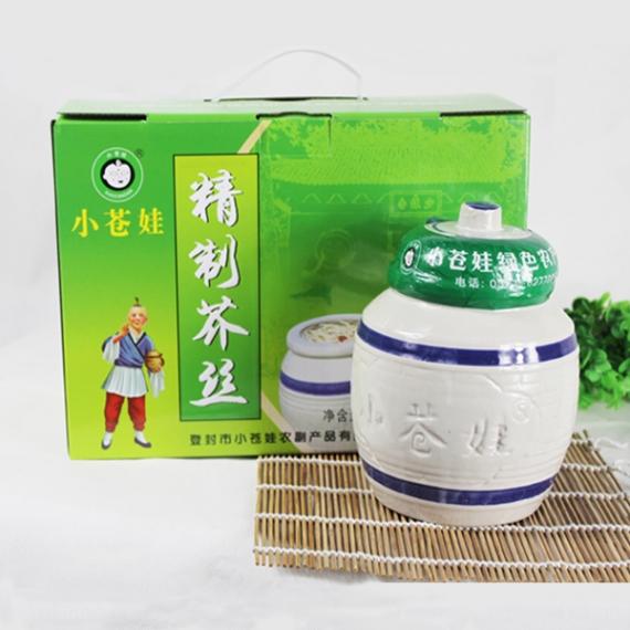 上海精制芥丝(1.1千克2罐)
