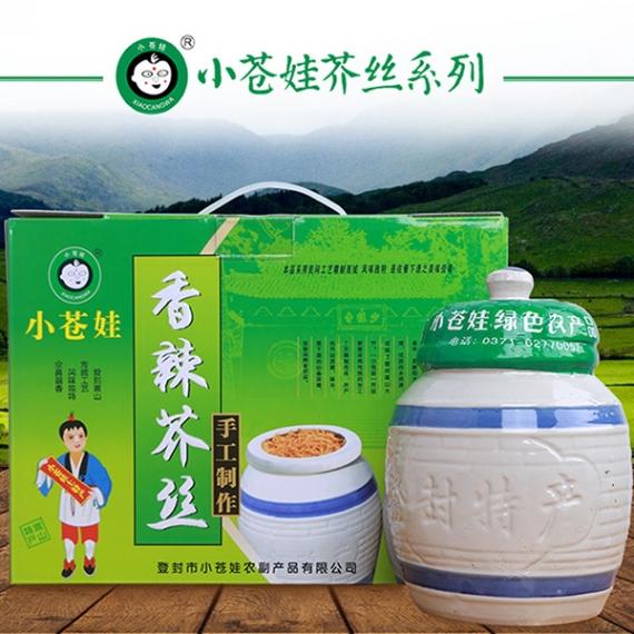 上海香辣芥丝(1千克2罐/箱)