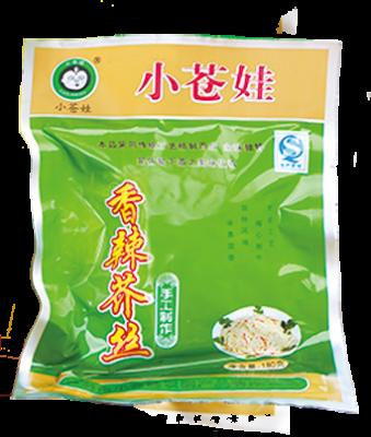 浙江香辣芥丝(180克/袋)