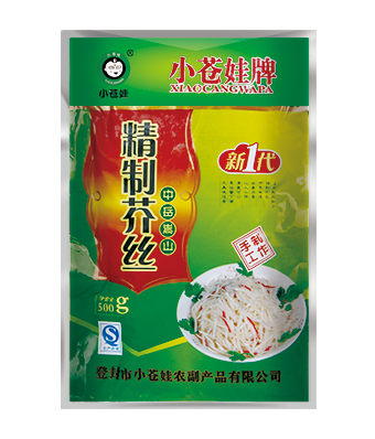 浙江精品芥丝(500克/袋)