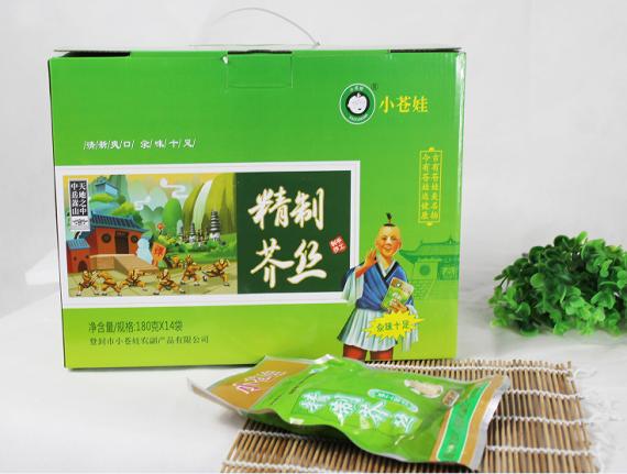 北京精制芥丝(180克14袋)