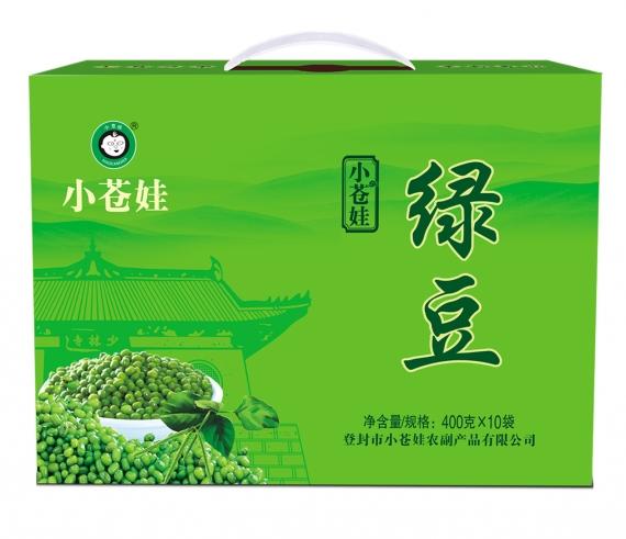 河南绿豆400克10袋