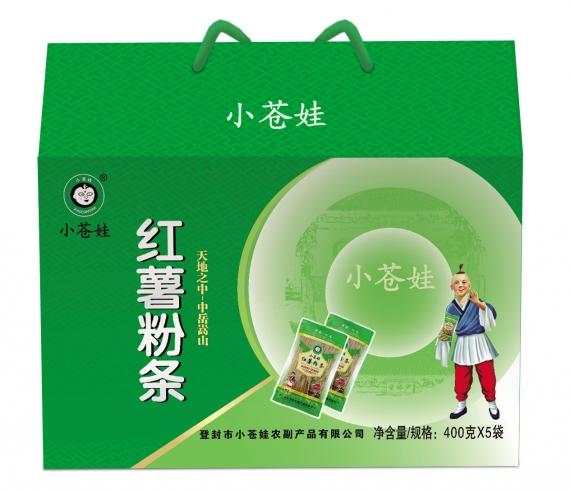 河南纯红薯粉条(400克5袋)