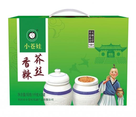 河南香辣芥丝(1千克2罐/箱)