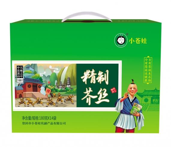 河南精制芥丝(180克14袋)