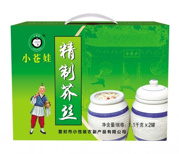 河南精制芥丝(1.1千克2罐)