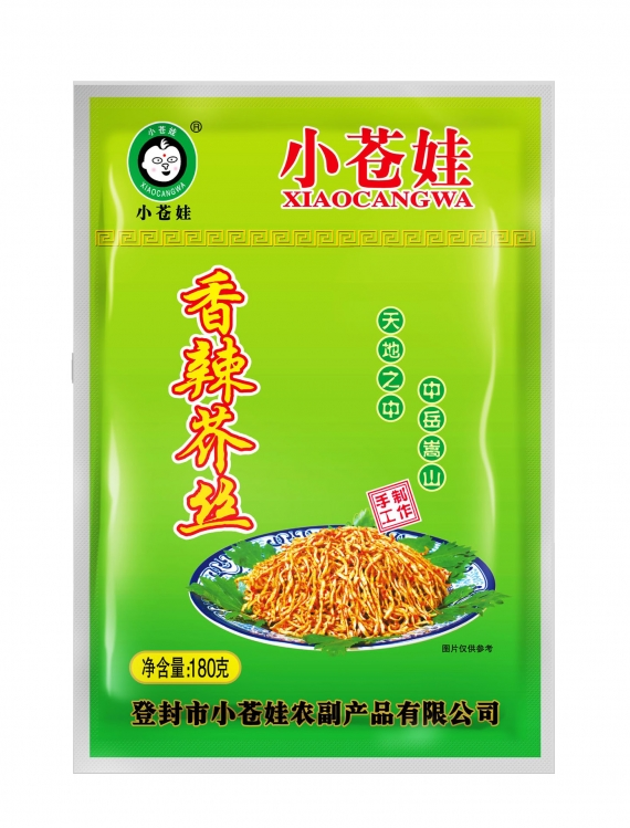 河南香辣芥丝(180克/袋)